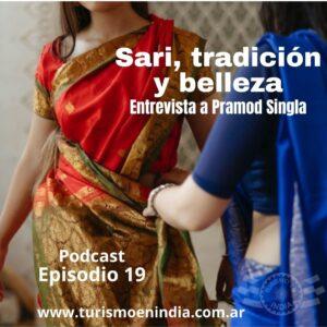 sari, vestimenta india